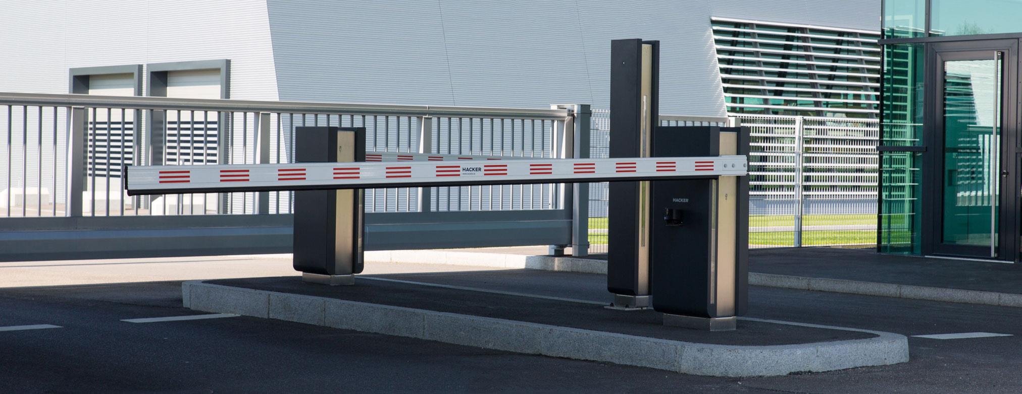Schrankensysteme Automatikschranken Fur Werkszufahrten Parkplatze